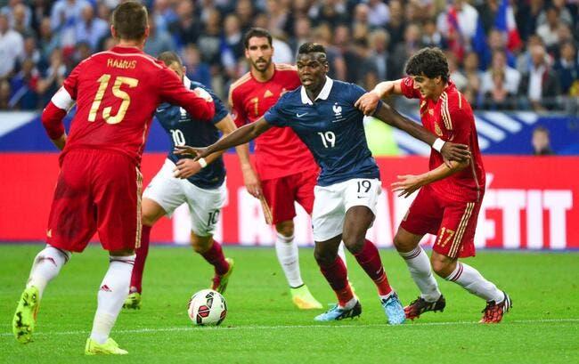 Rentrée réussie pour la France face à l'Espagne