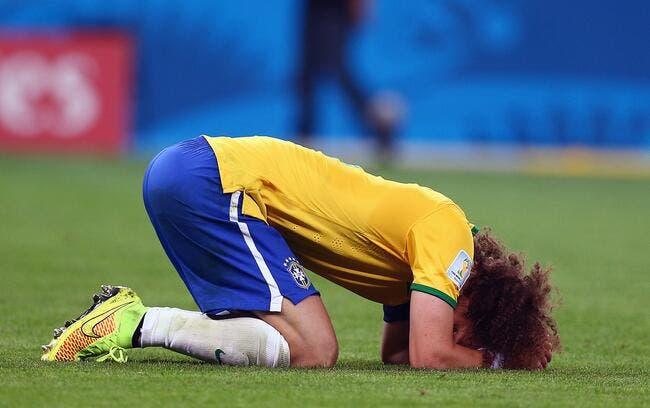 David Luiz se blesse au genou, le PSG tremble