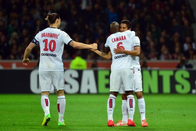 Marquinhos : « J'ai beaucoup appris aux côtés de Camara »