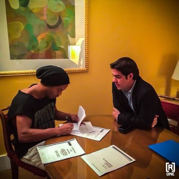 Ronaldinho a officialisé son nouveau club