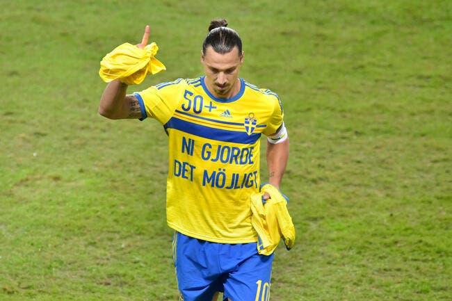 Zlatan Ibrahimovic s'avoue vaincu...