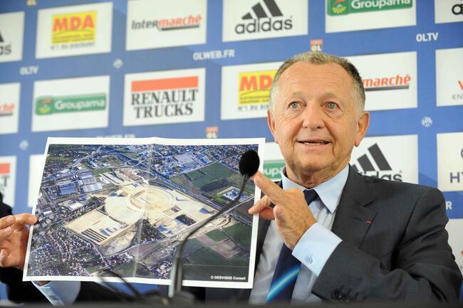 Bravo l'OL et Aulas pour le stade admet le patron de l'ASSE