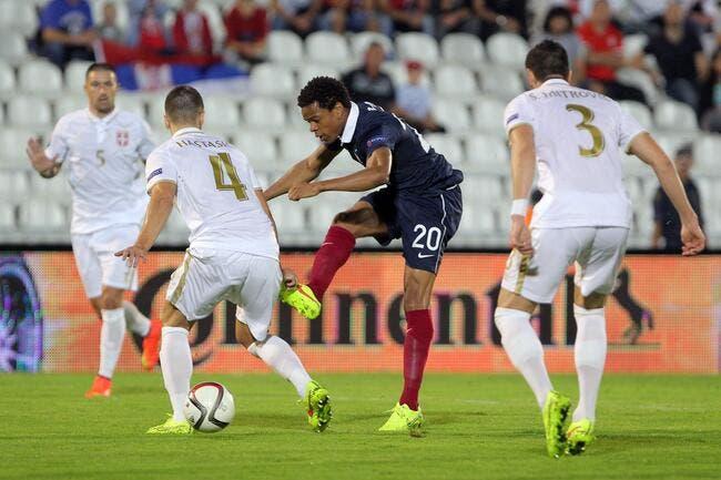 La France se fait accrocher en Serbie