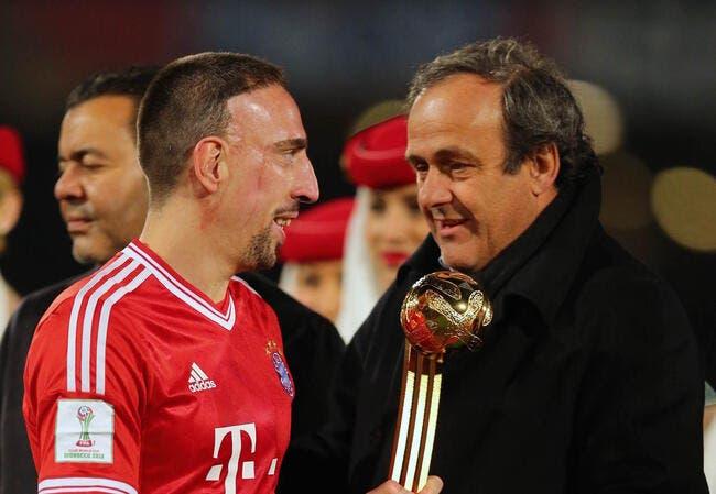 Platini s'énerve sur le cas Ribéry
