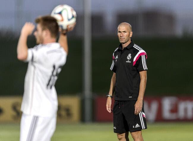 Zidane furieux de ses débuts ratés d'entraîneur
