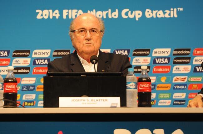 Blatter candidat officiel pour un 5e mandat à la FIFA