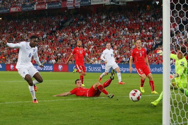 Suisse – Angleterre 0-2