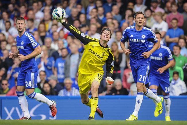Officiel : Courtois s'engage jusqu'en 2019 à Chelsea