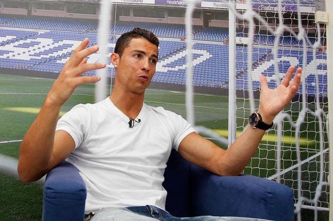 cristiano ronaldo p te la forme c est le real qui le dit foot 01. Black Bedroom Furniture Sets. Home Design Ideas