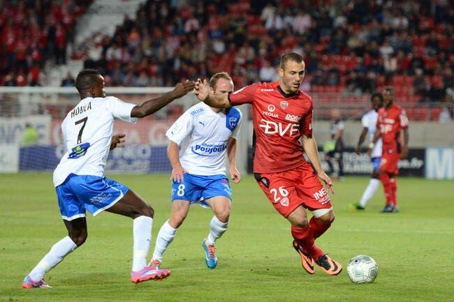 Une recrue, un but et Dijon passe devant