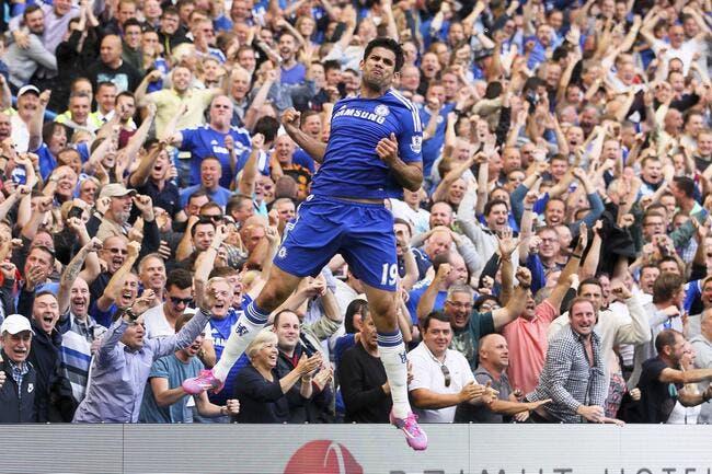 Hat trick de Diego Costa, et but de Rémy, Chelsea rigole