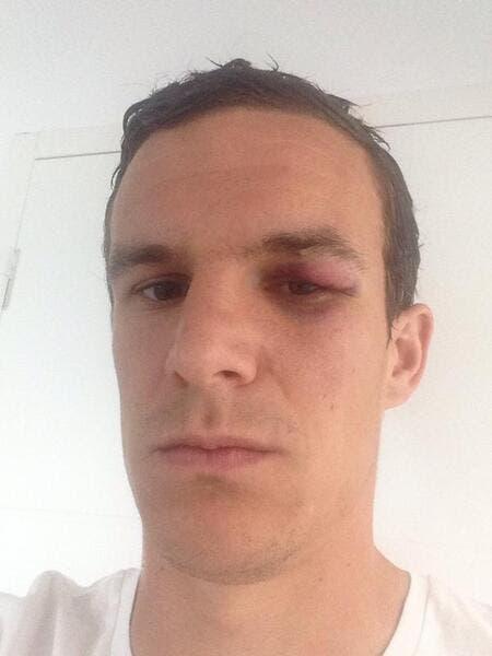 Le selfie de Danzé qui rend «hommage» à Ibrahimovic