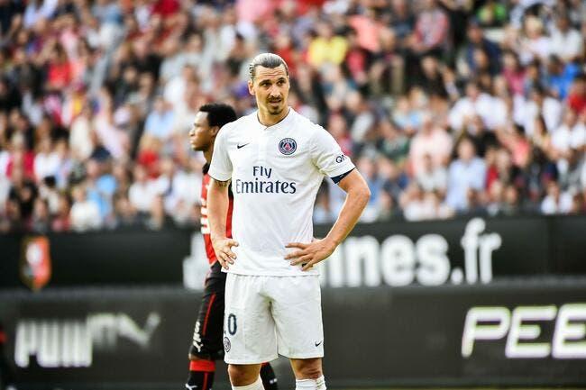 Ibrahimovic s'énerve même sur son propre réseau social