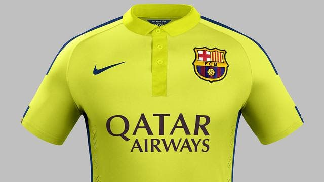 Attention les yeux, le Barça sort son troisième maillot face au PSG
