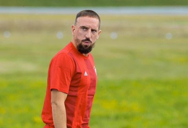 Ribéry est encore blessé et « ça le fait vraiment ch… »