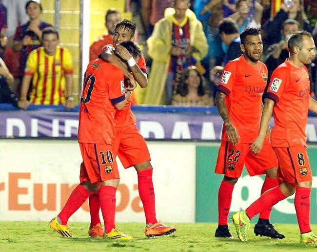 Levante – Barcelone 0-5