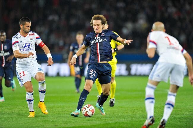 Une crise au PSG ? David Luiz rigole