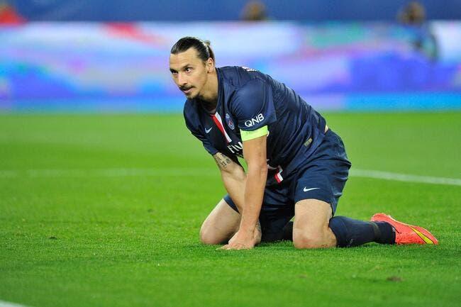 Ibrahimovic forfait sur blessure pour Caen-PSG !
