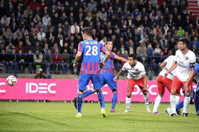 Caen a « regardé jouer » le PSG