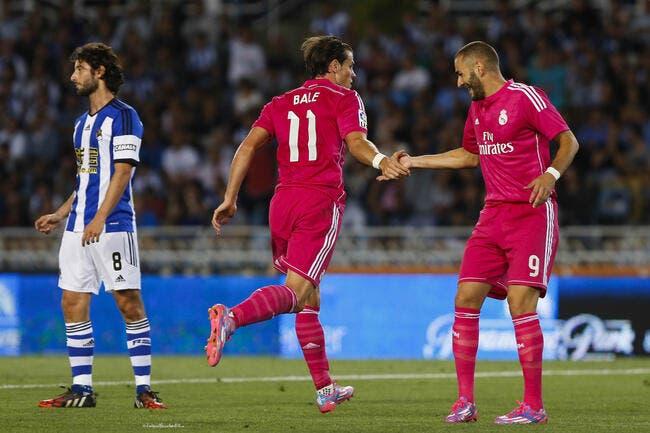 En marquant, Cristiano Ronaldo aide Benzema au Real