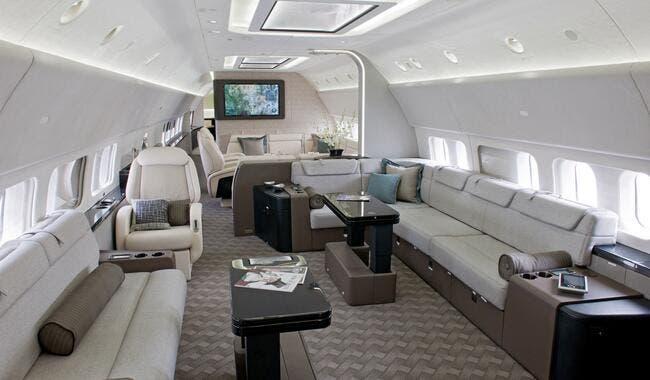 Le nouvel avion VIP du PSG pour ses déplacements
