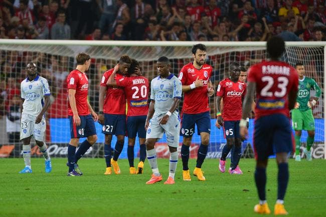 Lille se replace, Lorient, Reims et Guingamp dégoupillent