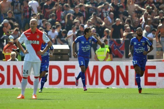 Nice s'offre le derby, Monaco rechute