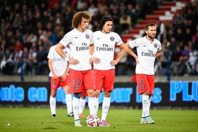 Au fait, le PSG est invaincu rappelle David Luiz
