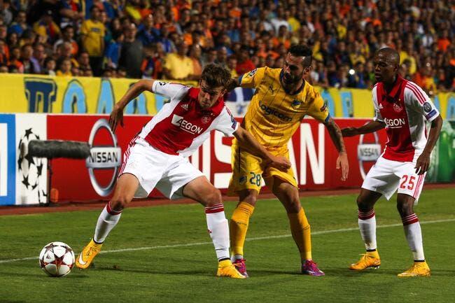APOEL Nicosie – Ajax Amsterdam 1-1