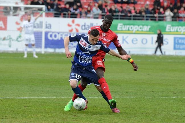 Dijon - Troyes : 0-1