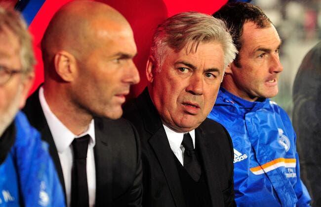 Zidane a un plan qui ne va pas plaire à Ancelotti au Real