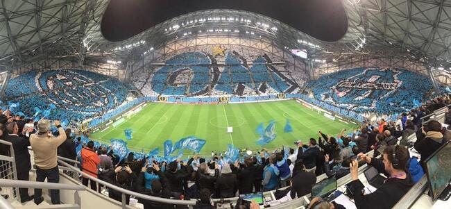 Photo : L'énorme tifo du Vélodrome avant OM-PSG