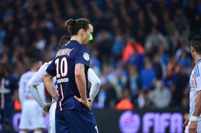 Zlatan s'est senti fatigué lors d'OM-PSG