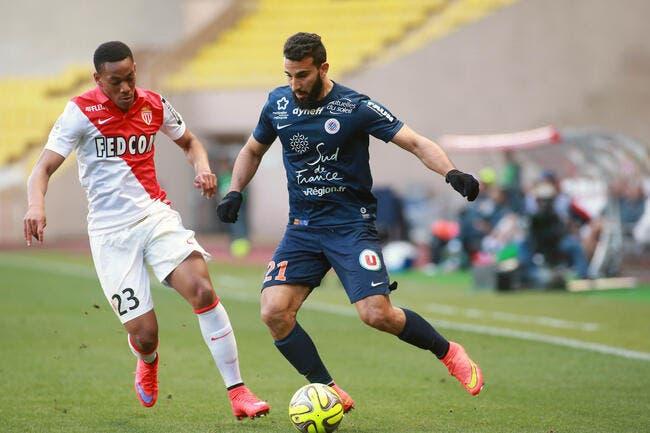 Montpellier bloque Monaco, l'OM peut souffler