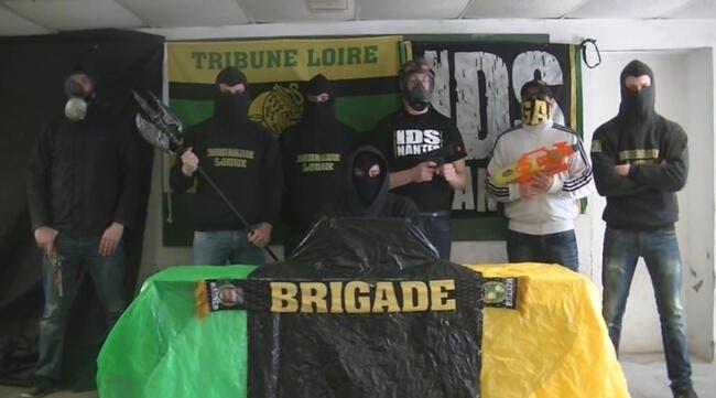 ASSE-Nantes : La vidéo choc des supporters de la Brigade Loire !