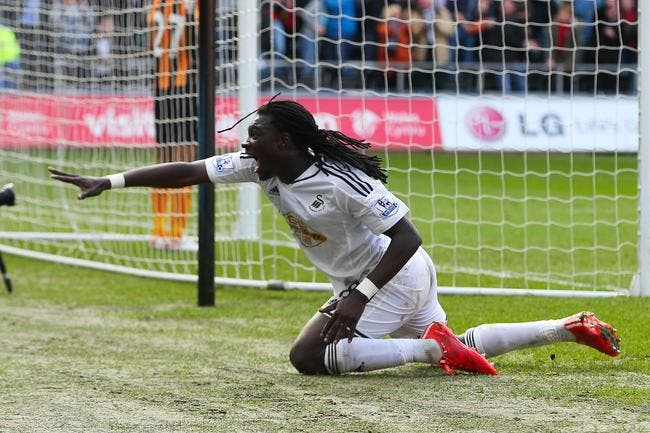 Gomis ne regrette pas d'avoir quitté l'OL pour Swansea