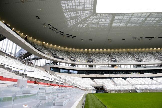 Bordeaux, le stade est prêt, sa capacité finale est connue