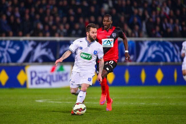 L'AJ Auxerre n'enverra pas la CFA face au PSG...