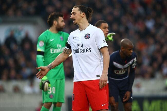 Ibrahimovic et le PSG ne pensent pas à une grosse sanction