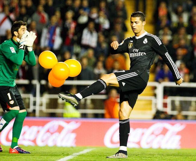 Le Real Madrid ne laisse pas passer le jaune de Cristiano Ronaldo