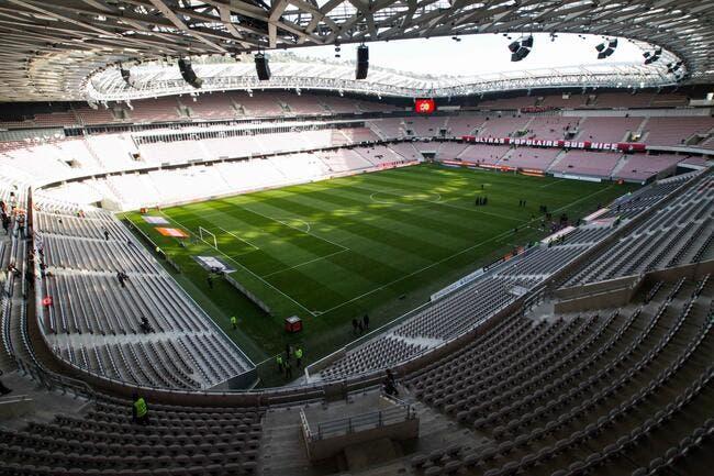 La LFP ferme une tribune à Nice