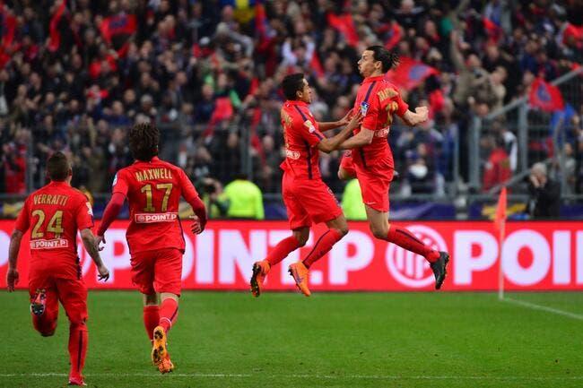 Le PSG pense déjà au Barça et pas à faire la fête