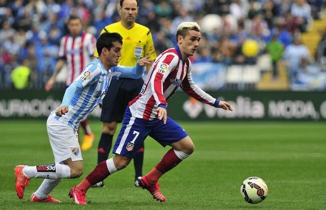 Malaga - Atlético Madrid : 2-2 avec un doublé de Griezmann