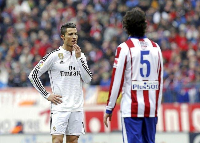 L'Atlético Madrid a ciblé Cristiano Ronaldo pour le derby européen