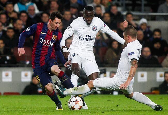 Maxwell et le PSG voient le danger partout au Barça
