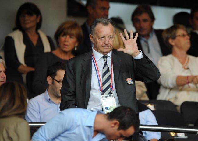 Lacazette : « L'OL a le meilleur président de France »
