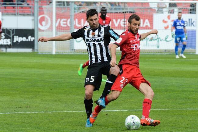 Dijon - Angers : 1-1