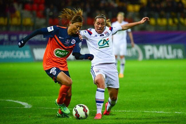 Les filles de l'OL gagnent la Coupe de France