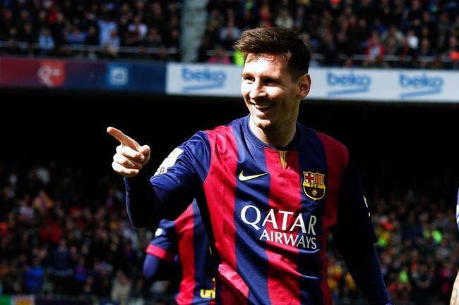 Messi marque son 400e but avec le Barça