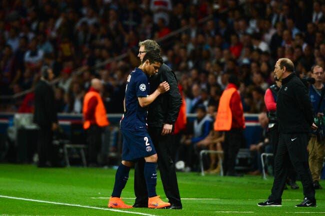 Thiago Silva lui aussi moins blessé que prévu au PSG ?